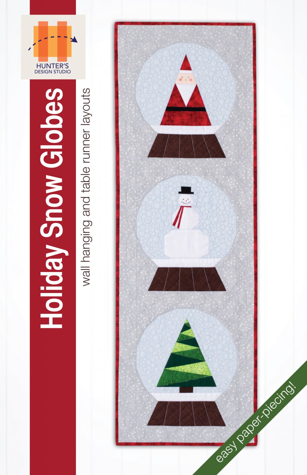 Holiday Snow Globes Kit - Paper Piecing