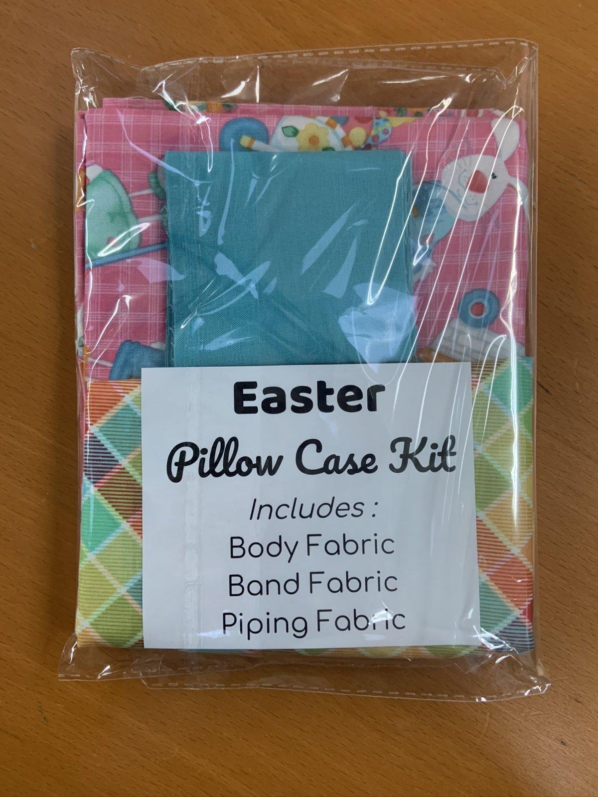 Easter Pillow Case Kit- Pink