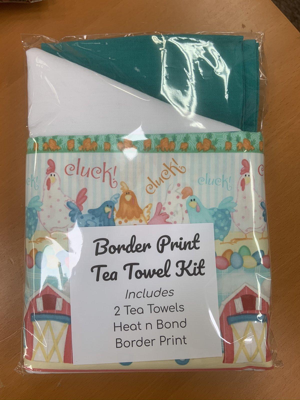 Easter Hand Towel Border Print Kit