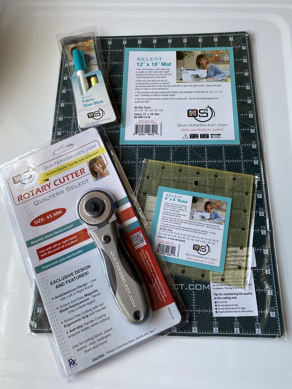 Quilter's Select Starter Tool Kit - QSP-TOOLS20B