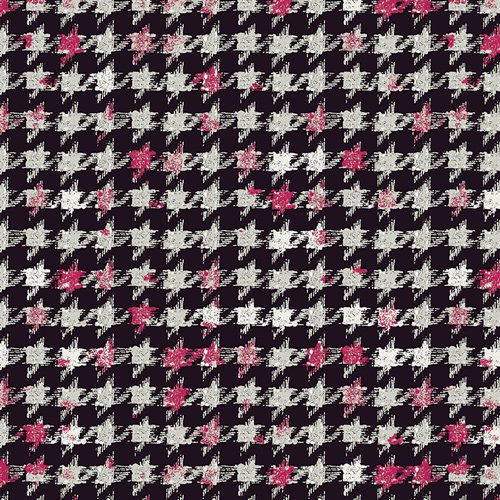 Houndstooth XIV Amour in Knit