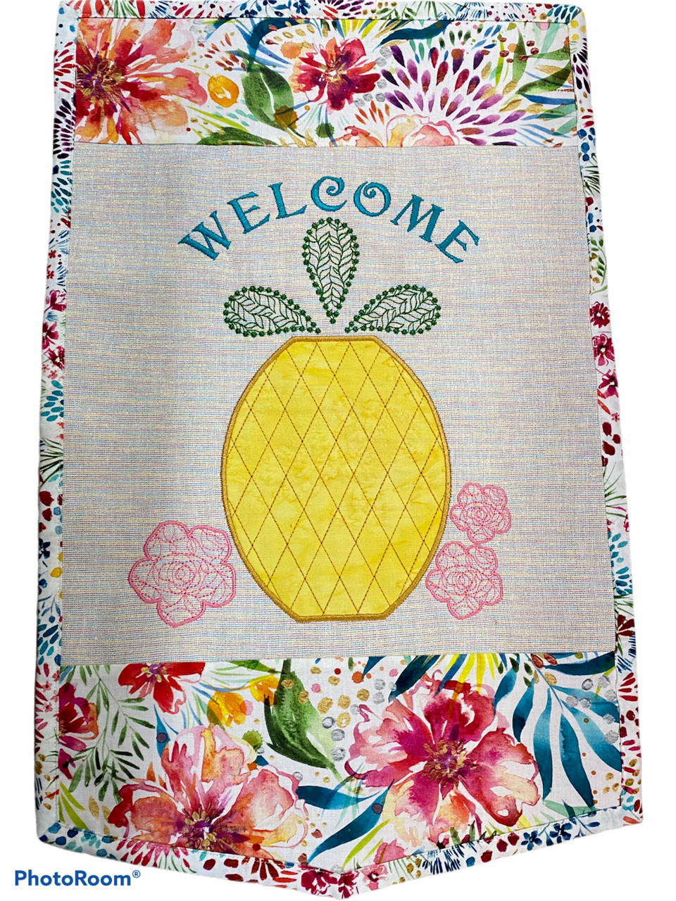 IQ Designer Directions - Welcome Pineapple for the Solaris - Create an applique & work with fancy fills and lettering