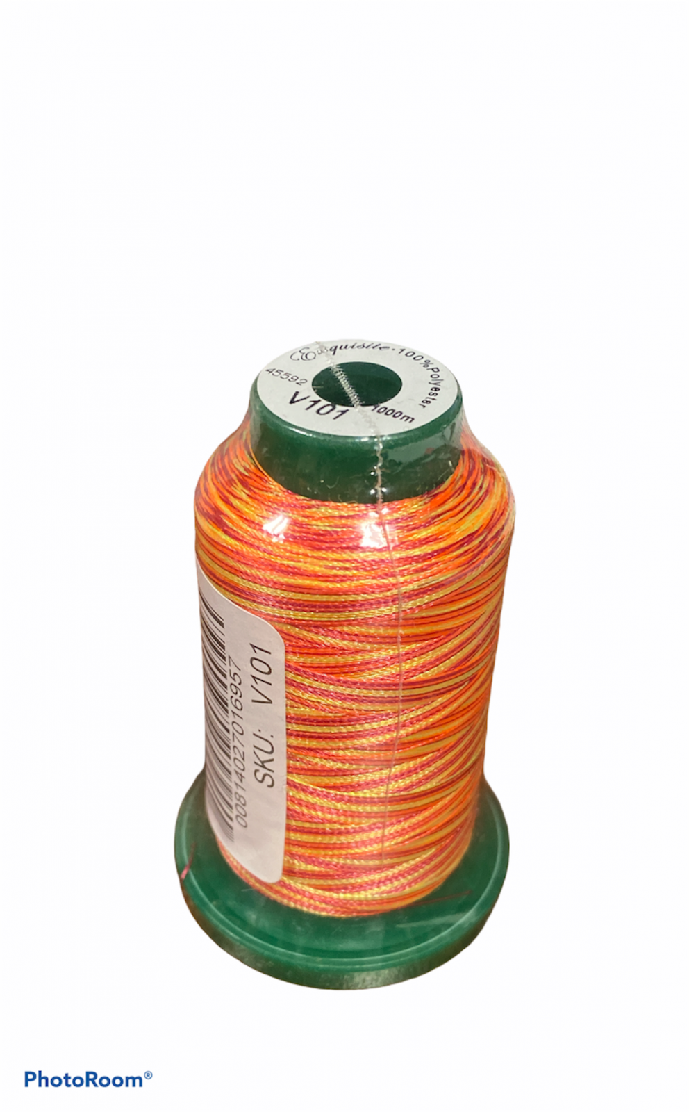 Medley Variegated Embroidery Thread - Sunset 1000 Meters (V101)