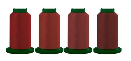 Exquisite Thread Quartet Ravishing Reds TQRR03