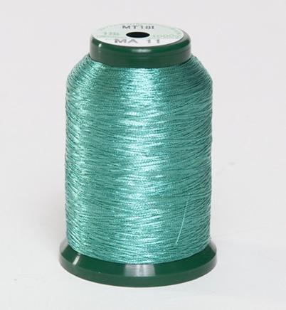 KingStar Metallic Embroidery Thread - MA -11 Aqua (A470011)