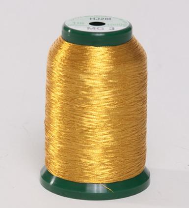 KingStar Metallic Embroidery Thread - MG 3 Gold (A470023)
