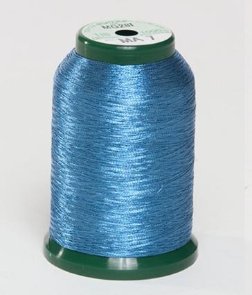KingStar Metallic Embroidery Thread - MA 7 Persian Blue (A470007)