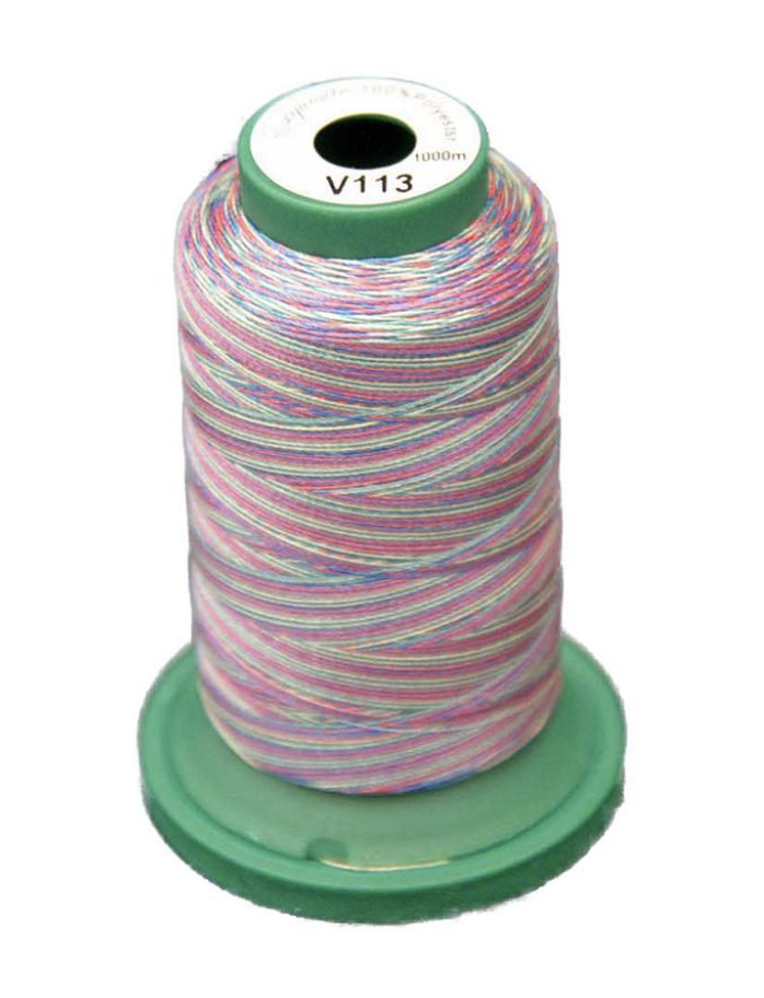 Medley Variegated Embroidery Thread - Carnival 1000 Meters (V113)