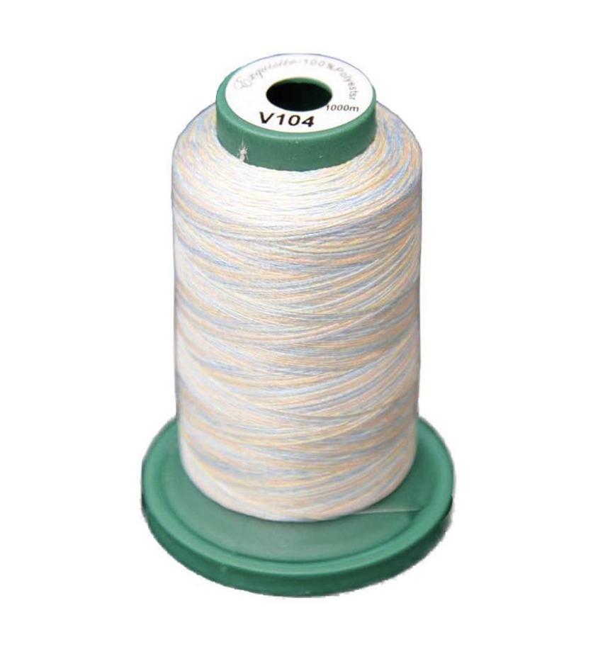 Medley Variegated Embroidery Thread - Pastels 1000 Meter (V104)