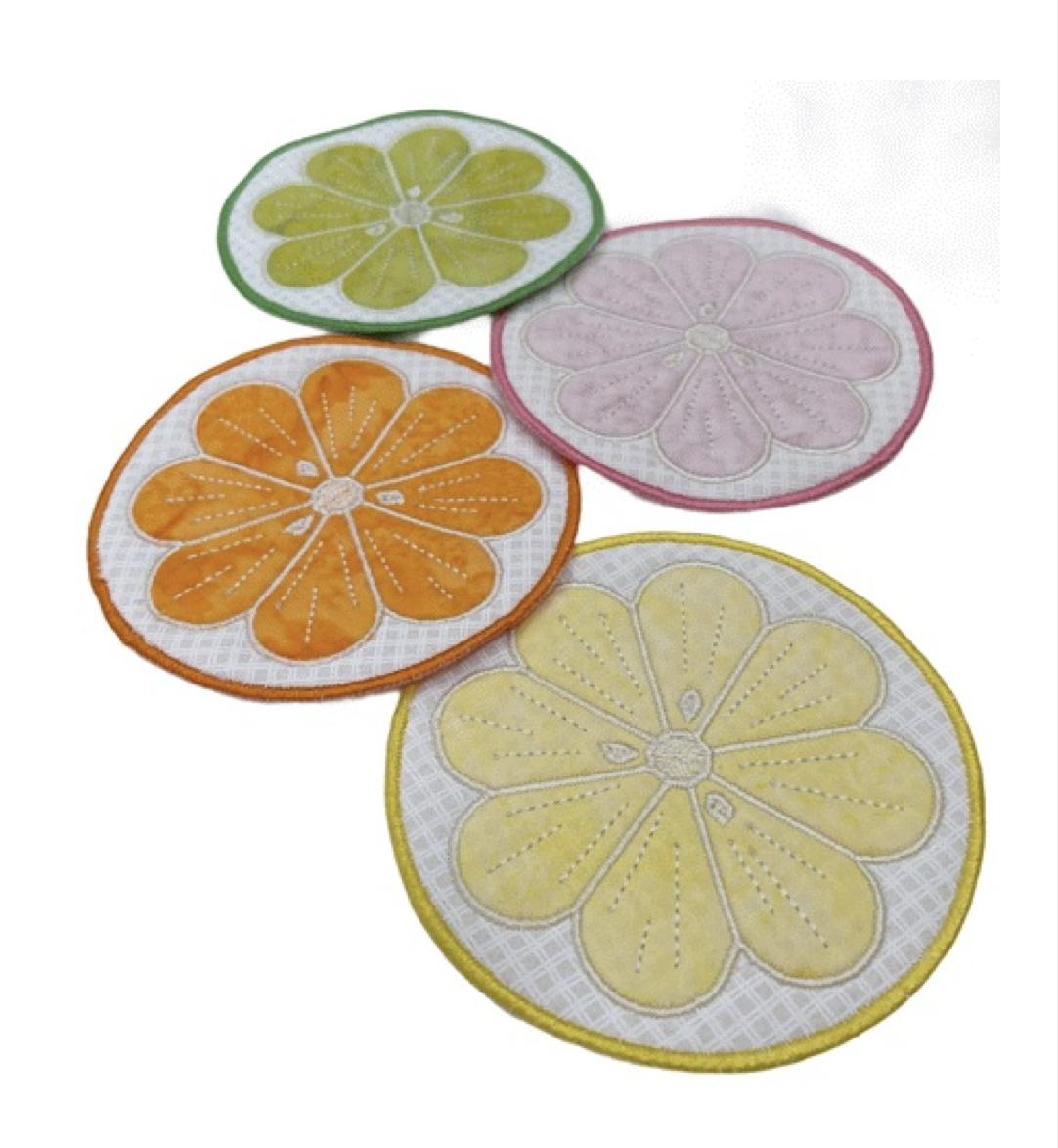 IQ Designer Directions - Summer Fruit Coasters