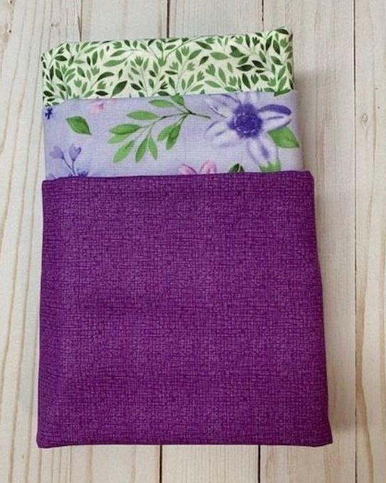 Summer Garden Purple - 3 Yard Bundle
