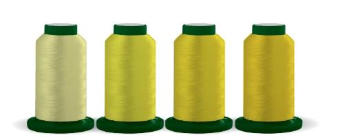 Exquisite Thread Quartet Useful Yellows