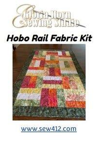 Hobo Rails Table Runner Kit in Batiks