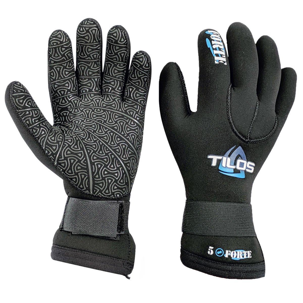 Tilos 5mm Titanium Velcro Glove