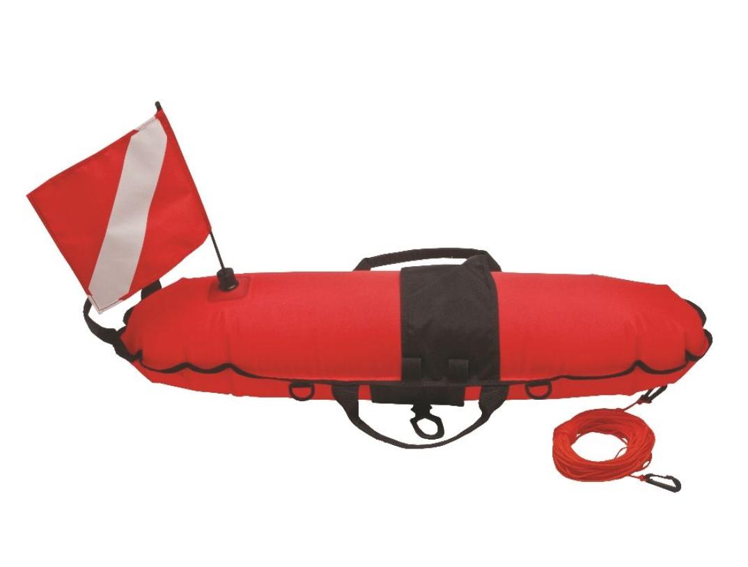 ISC Torpedo Buoy Orange with Line