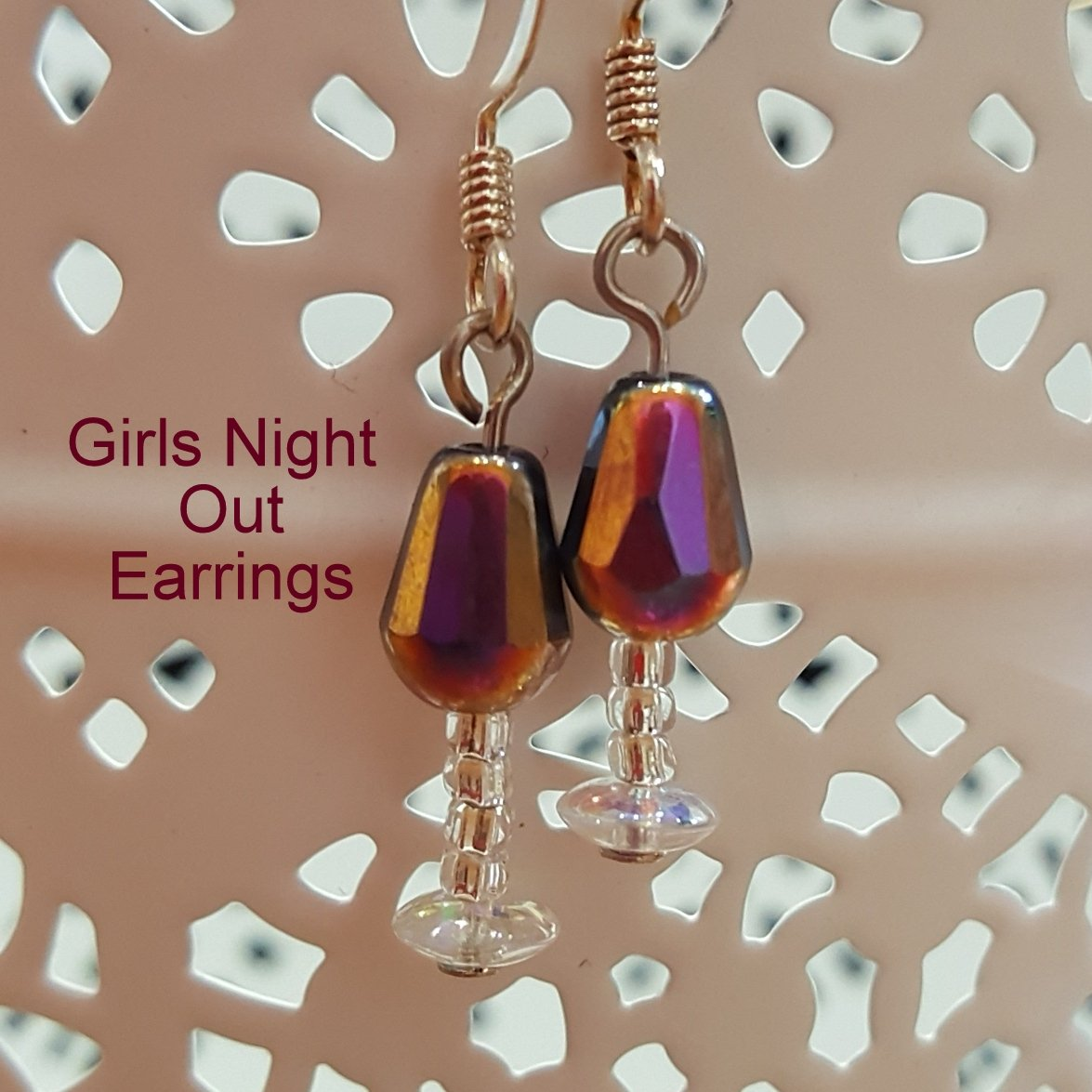 Girls Night Out Earrings Instruction