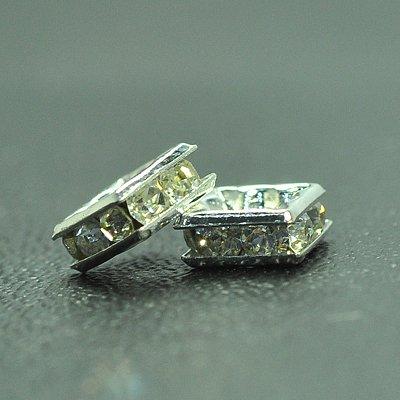 6mm SP Crystal, Flat square, 6x6x3 mm