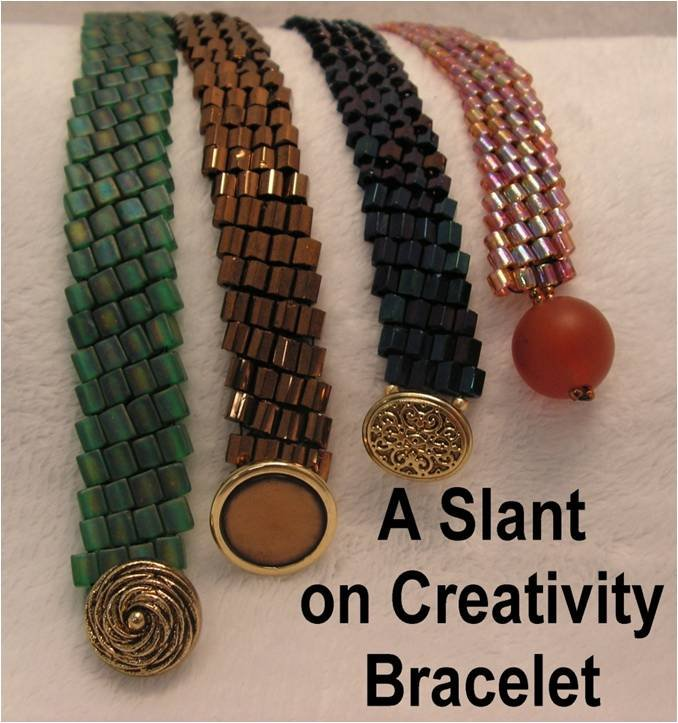 INS220 A Slant on Creativity Bracelet