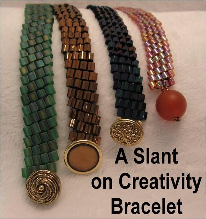 INS220 A Slant on Creativity Bracelet
