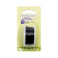 Artistic Wire 18g - Black