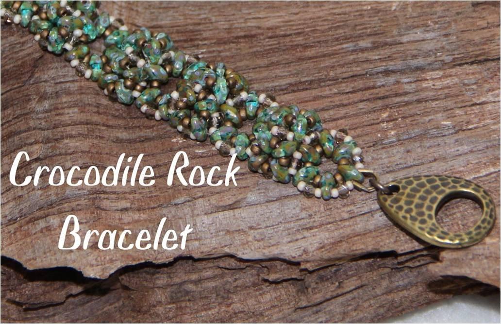 INS325 Crocodile Rock Bracelet
