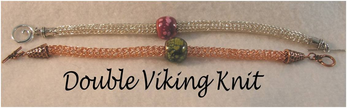 INS164 Double Viking Knit Bracelet