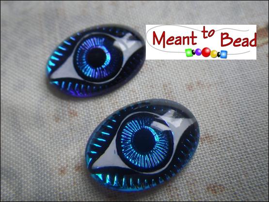 Bermuda Blue Eye 18X13mm Oval Cab EA