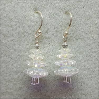Crystal Tree Earring Kit Crystal AB