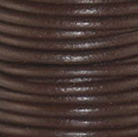 Chocolate Brown 1 mm Rnd Leather