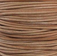 Natural 3 mm Rnd Leather