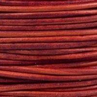 Red Nat 1 mm Rnd Leather