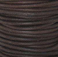 Antique Brown 2 mm Rnd Leather