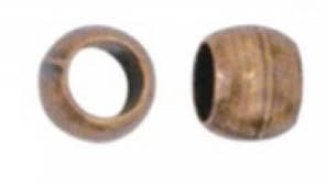 100pc Bag Crimp Bead 2mm Copper