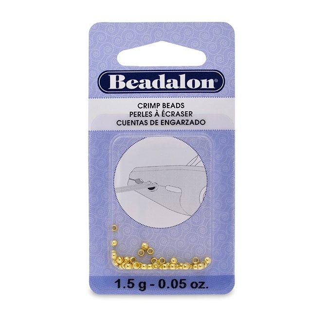 1.5g Bag Crimp Beads 2.5mm G