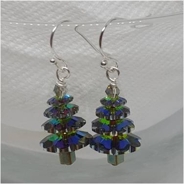 Crystal Tree Earring Kit Vitral