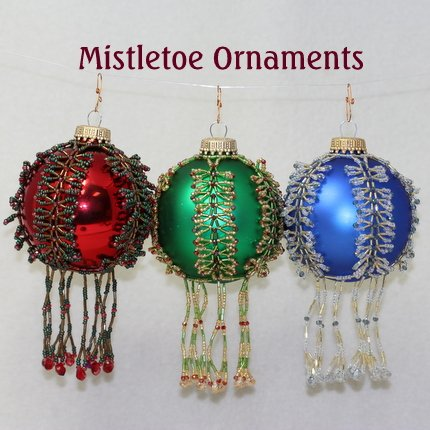 Mistletoe Ornament Inst
