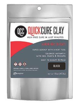 Quick Cure Clay BLACK  16oz