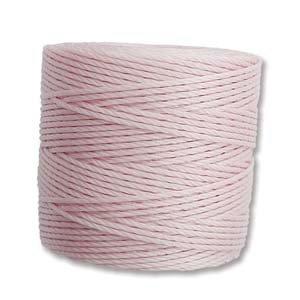 Blush S-Lon Bead Cord