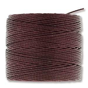 Burgundy S-Lon Bead Cord