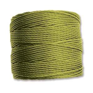 Chartreuse S-Lon Bead Cord