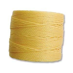 Golden Yellow S-Lon Bead Cord