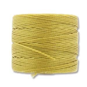 Light Maize S-Lon Bead Cord