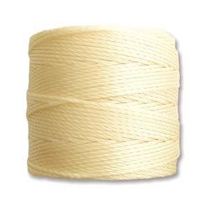 Pale Yellow S-Lon Bead Cord