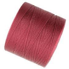Dk Red MICRO S-Lon Bead Cord