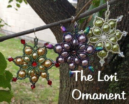 The Lori Ornament Instructions
