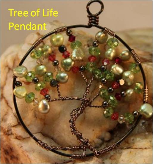 INS201 Tree of Life Pendant