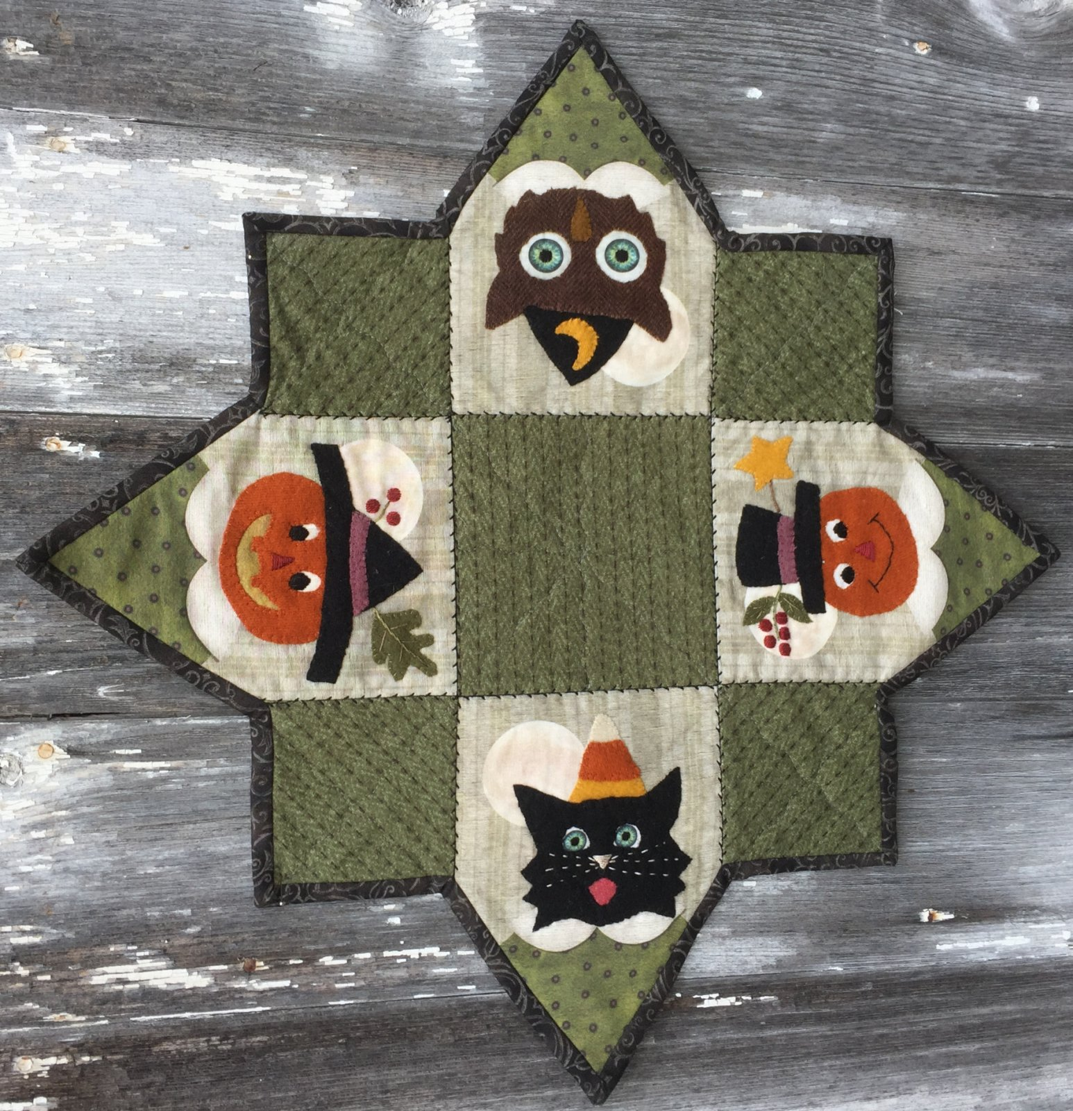 All Through The Night - Halloween Table Topper Kit