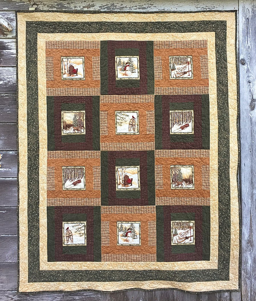 Frosted Memories Quilt Kit