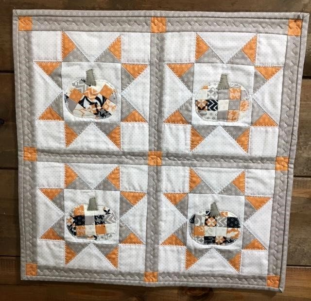 Patching Up Pumpkins Wall Quilt Kit