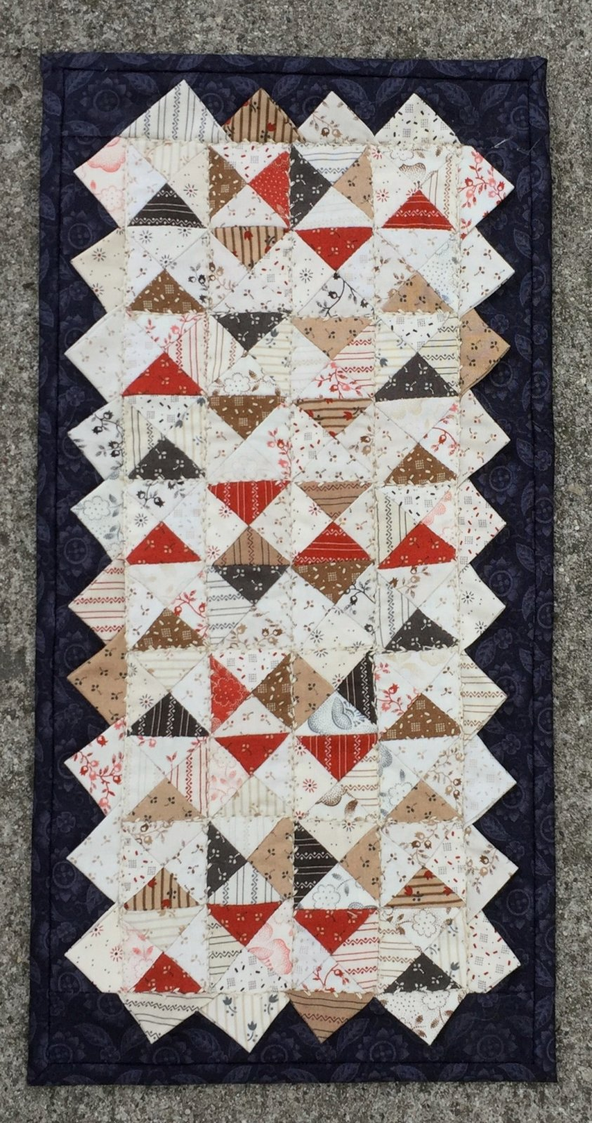 Quarter Triangle Twist Downloadable Pattern
